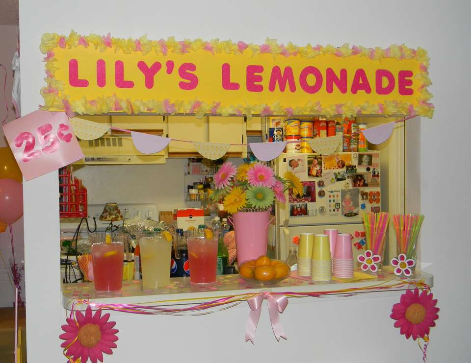 Lily's 1st Birthday - Pink Lemonade