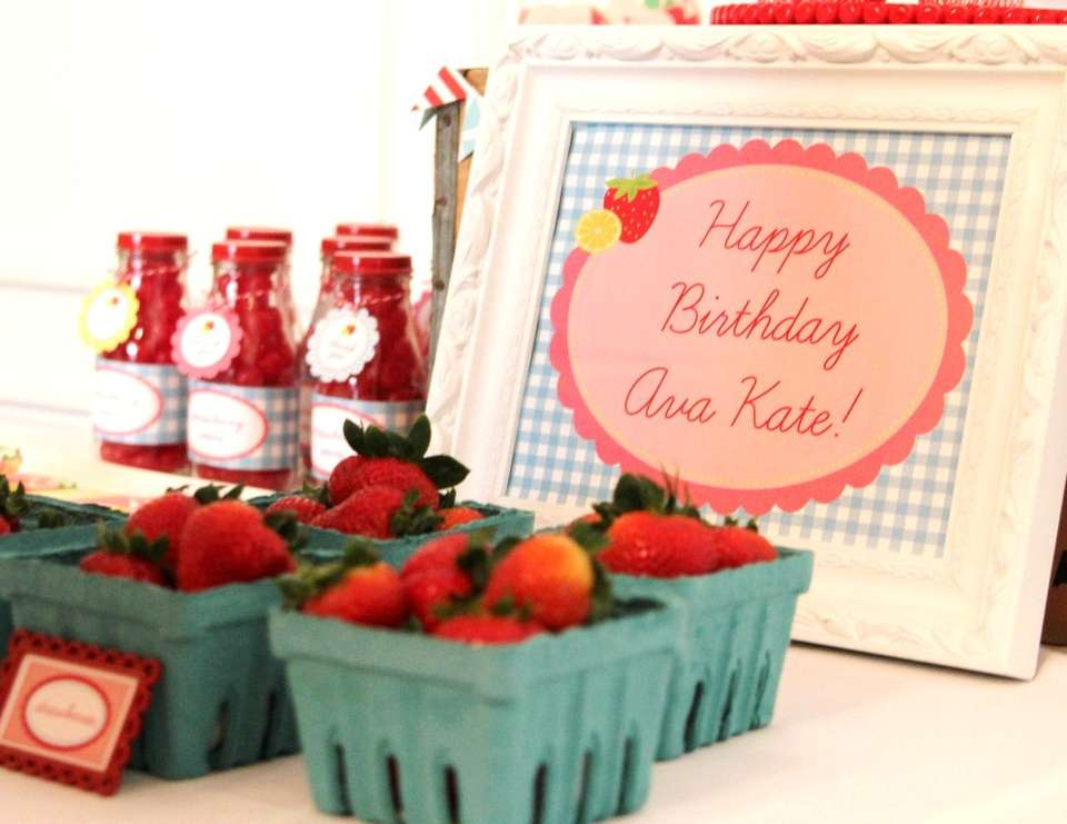 Strawberry Lemonade Party by Modern Frills - None