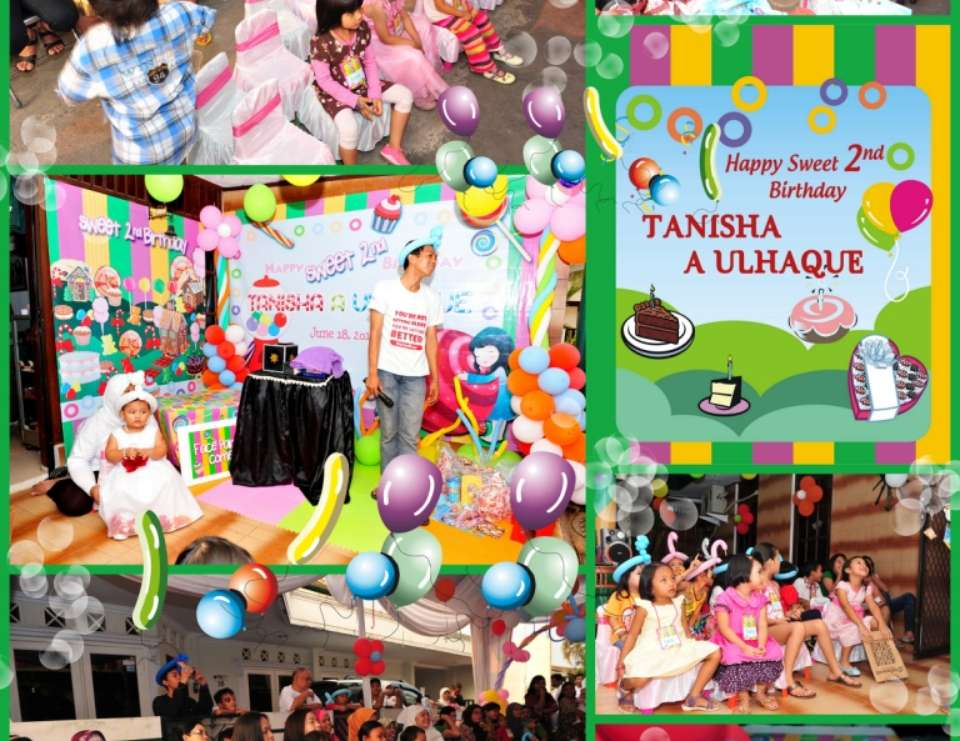 """Tanisha Sweet Party"" - Candy Land"