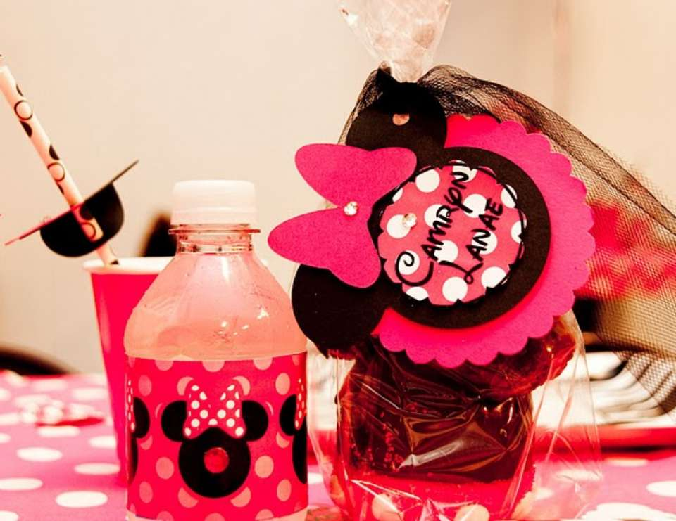 {Divalicious Minnie Mouse Party} - Mickey Mouse Clubhouse or Minnie Mouse