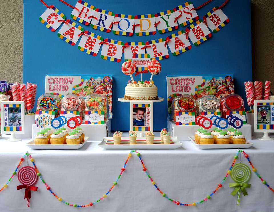 Brody's Candyland Birthday Party - Candyland