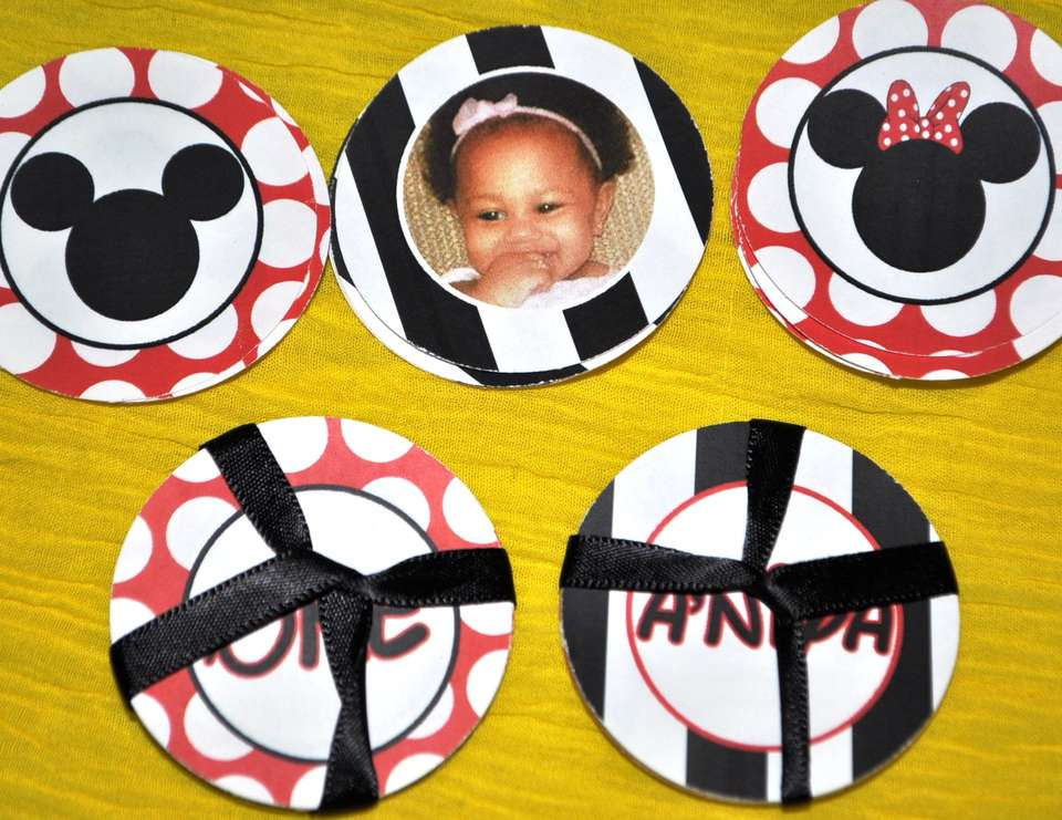 **Its Minnie & MIckey Time ** - Inspired Minnie & Mickey A'niya's 1st Party