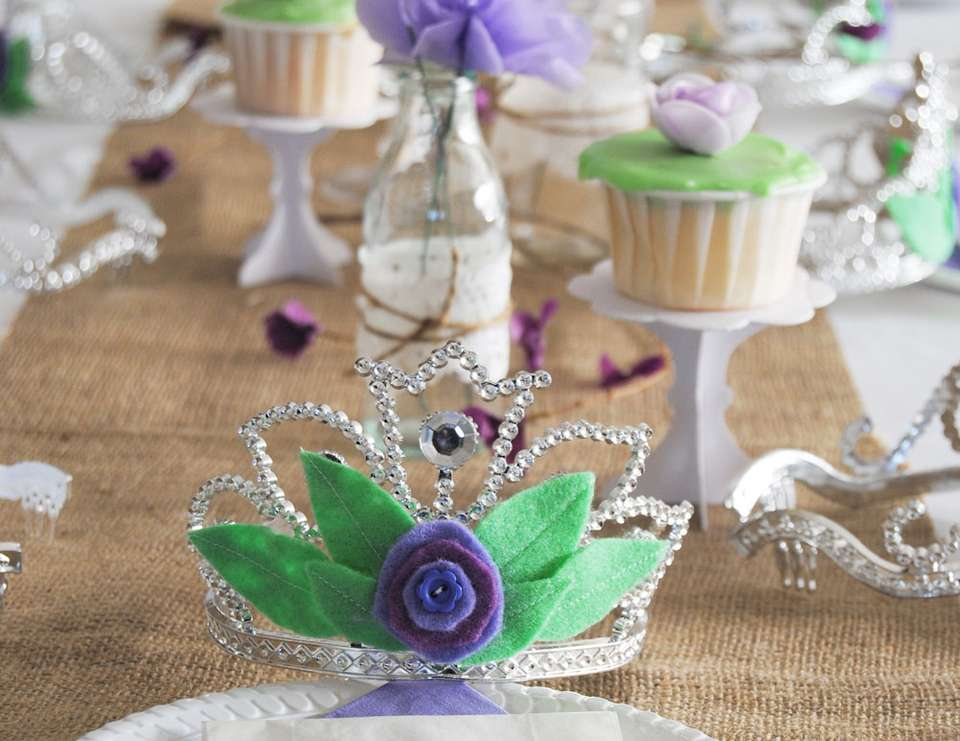 Indigo's 5th Birthday - Whimsical Woodland Princess