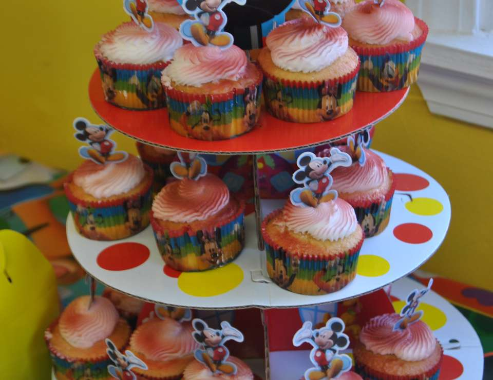 Mickey mouse Joey 3rd Birthday Party - Mickey Mouse Clubhouse or Minnie Mouse
