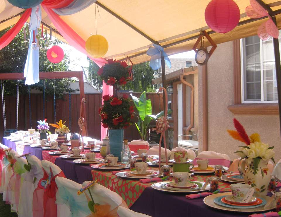 Celeste's Mad Hatter Tea Party - Alice in Wonderland, Mad Tea Party
