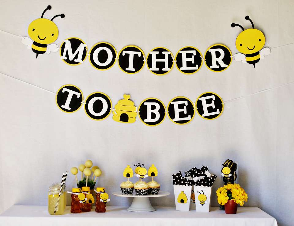 Mother to Bee Baby Shower - Bumblebee
