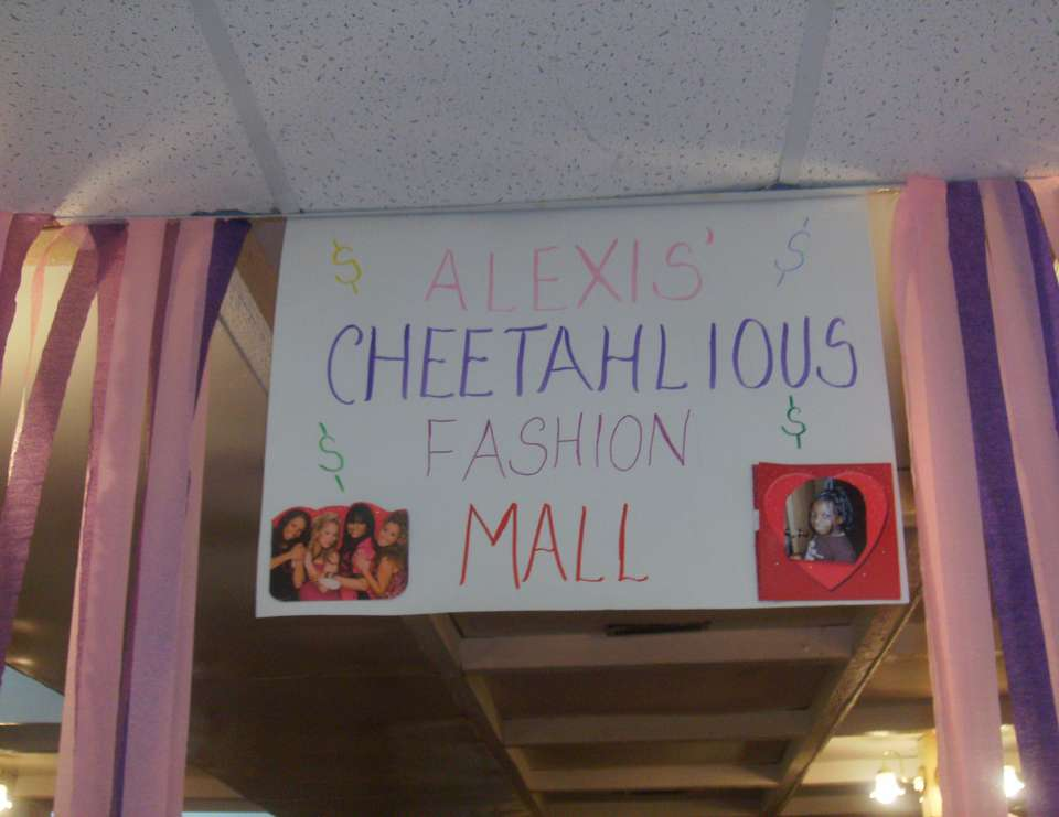 Cheetah Girl Mall Party - None