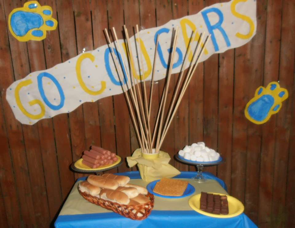 GO COUGARS Party! - 1st home football game gathering