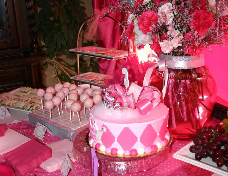 Malia's Pink Princess Party - Pink Princess