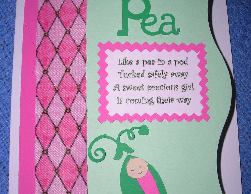 Sweet Pea Baby Shower  - Sweet Pea; Green and Pink