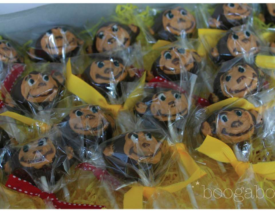 Monkey / Curious George Cake Pops  - None