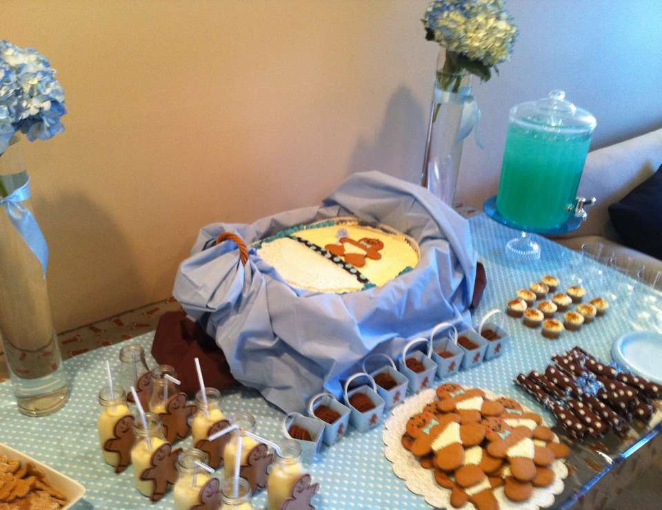 Gingerbread Baby Shower - Gingerbread Boy