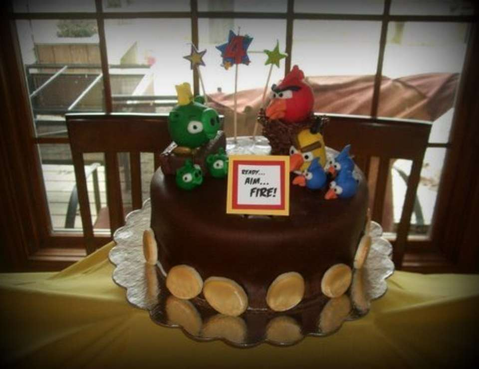 Branson's Angry Birds Party - Angry Birds