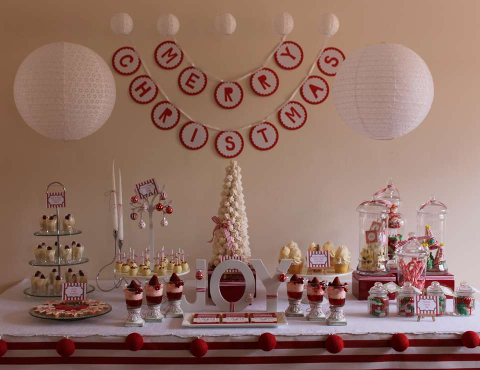 Red & White Inspired Pre - Christmas Party  - None