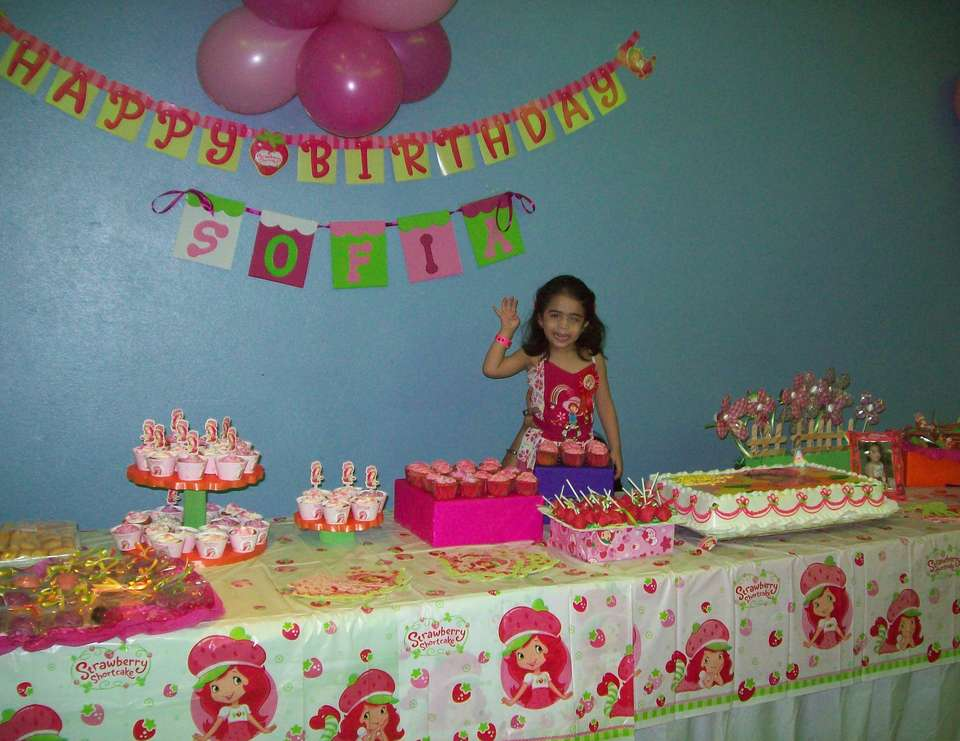 *Sofia's 4th Birthday * - Strawberry Shortcake