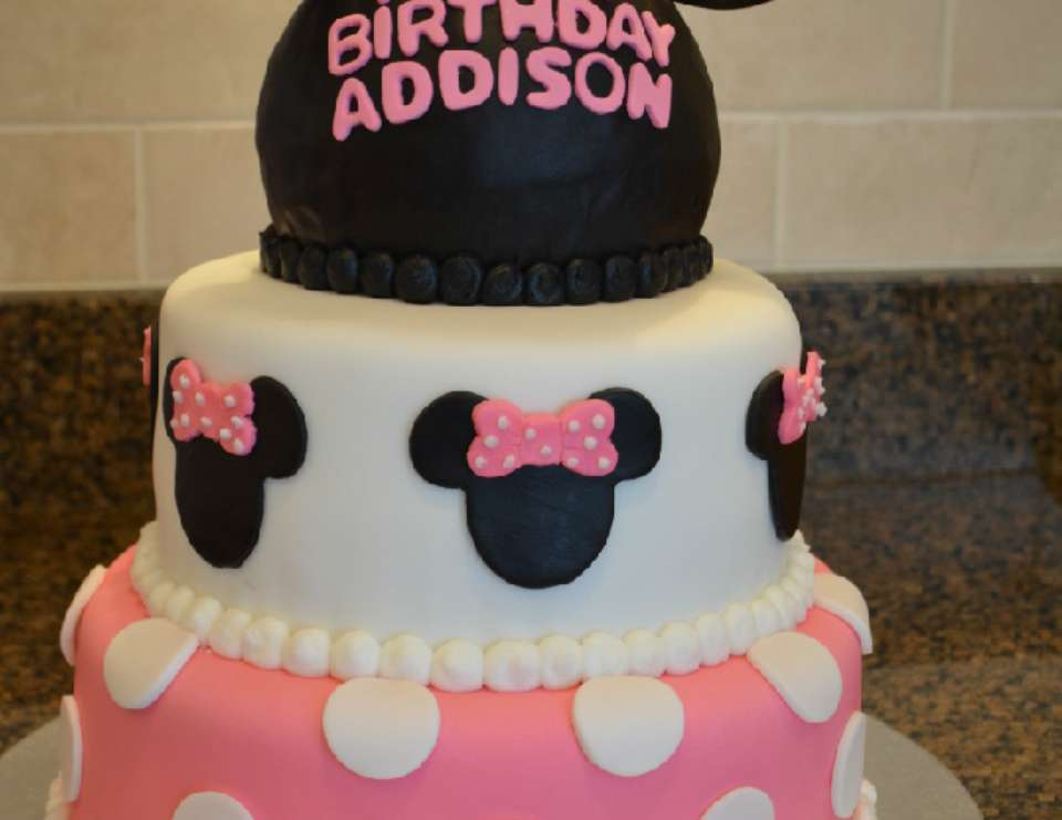 Addison's Minnie Mouse Party - Mickey Mouse Clubhouse or Minnie Mouse