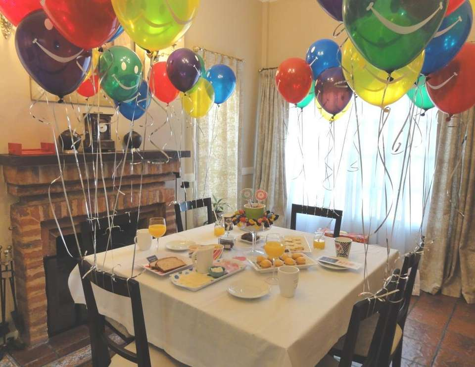 Baloons for Agus y Fede - Dinner Party, Birthday, Breakfast