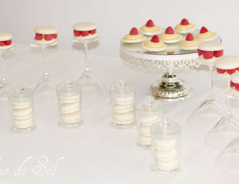 Valentine's Day mini dessert table - Valentine's Day