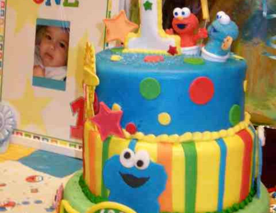 "Baby Sesame Street / Birthday ""Our sons 1st birthday ..."