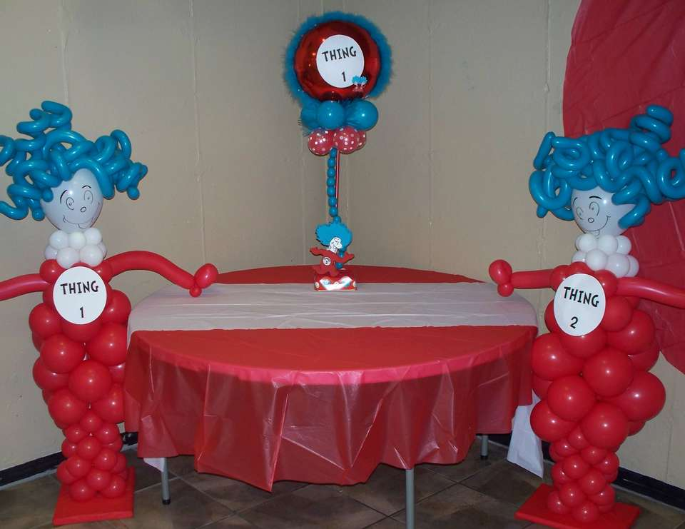 Twins - Thing 1 and Thing 2