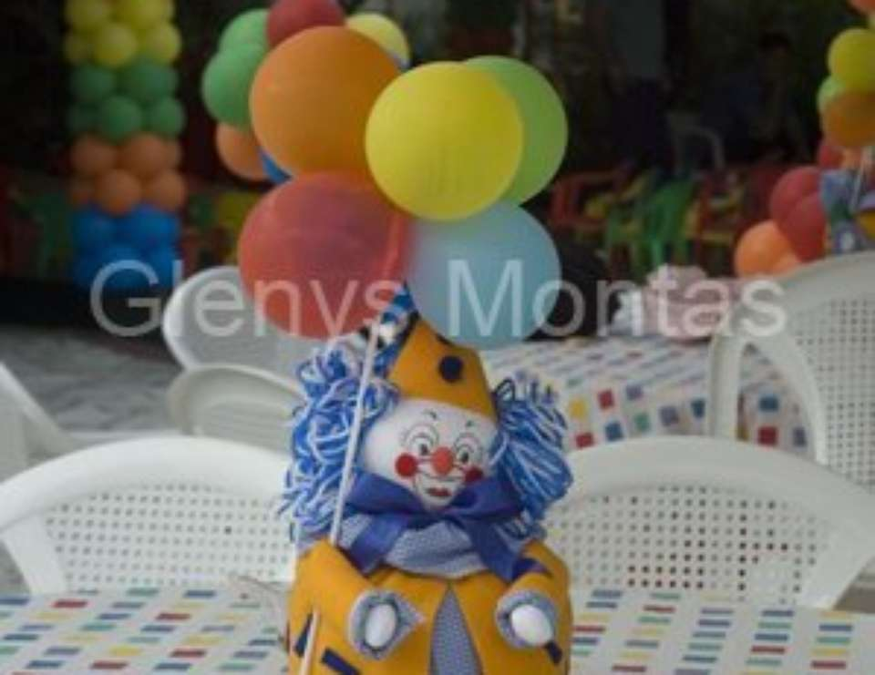 3rd BIrthday party - Clown