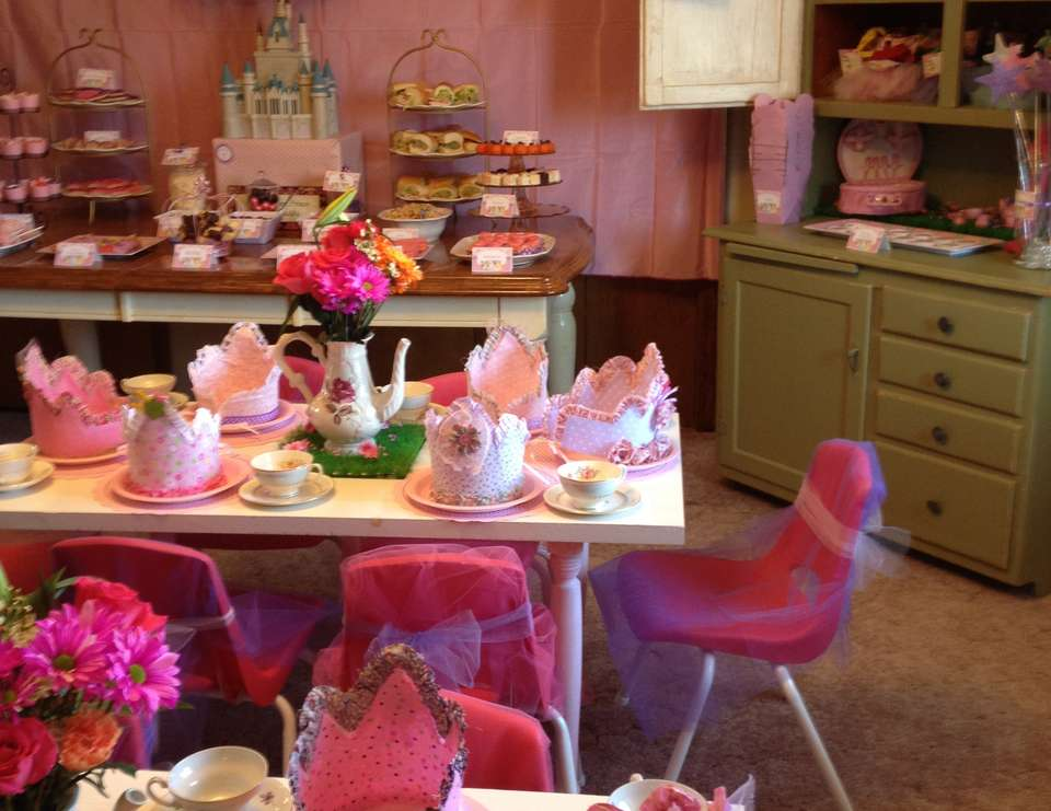 A Royal Princess Tea Party - Princess Tea Party