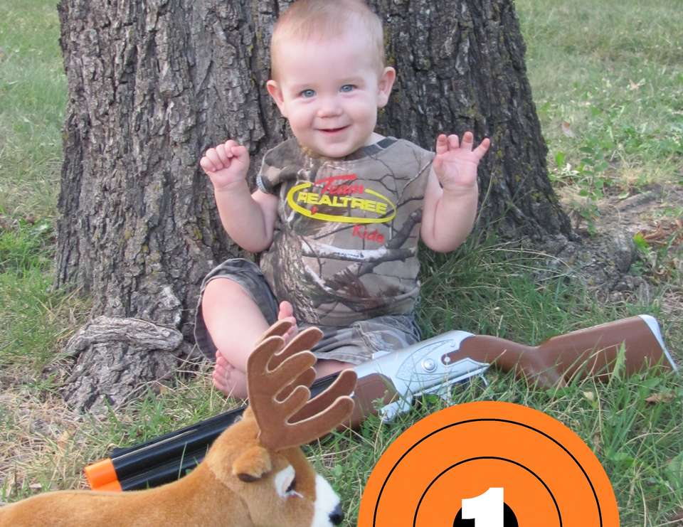 Grab your Camo, get your Gun! Hunter's Turning 1! - Deer/Hunting/Hunter