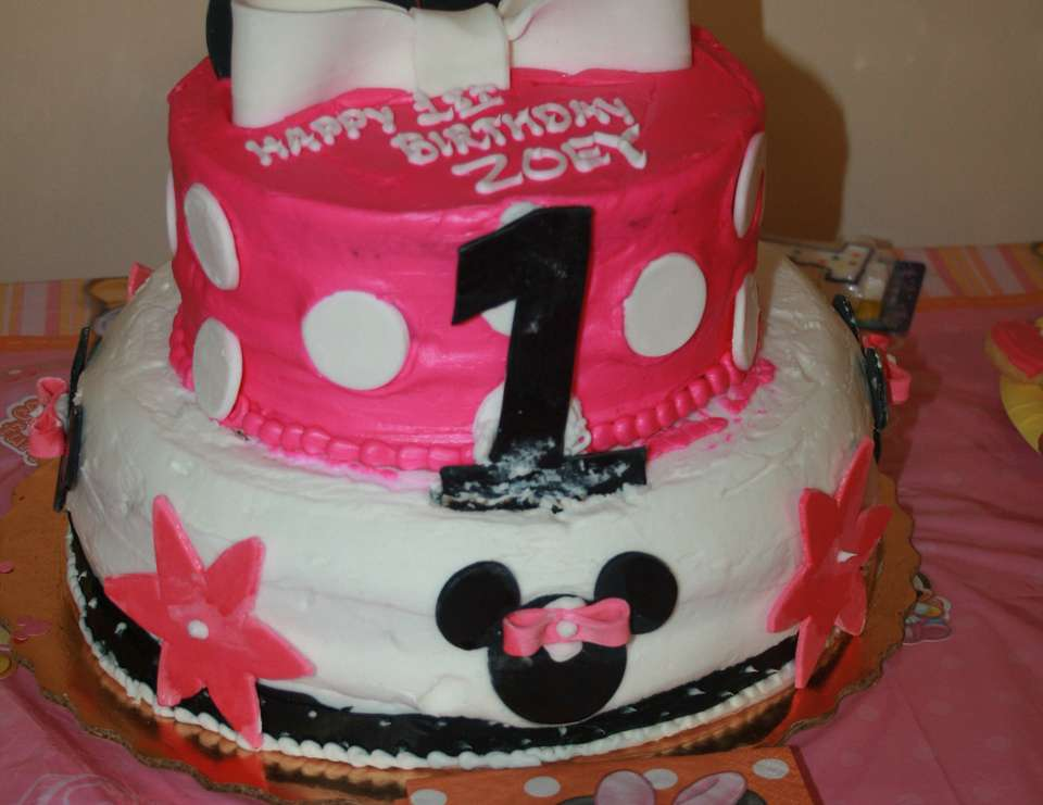 Zoey's 1st Birthday - Baby Minnie Mouse