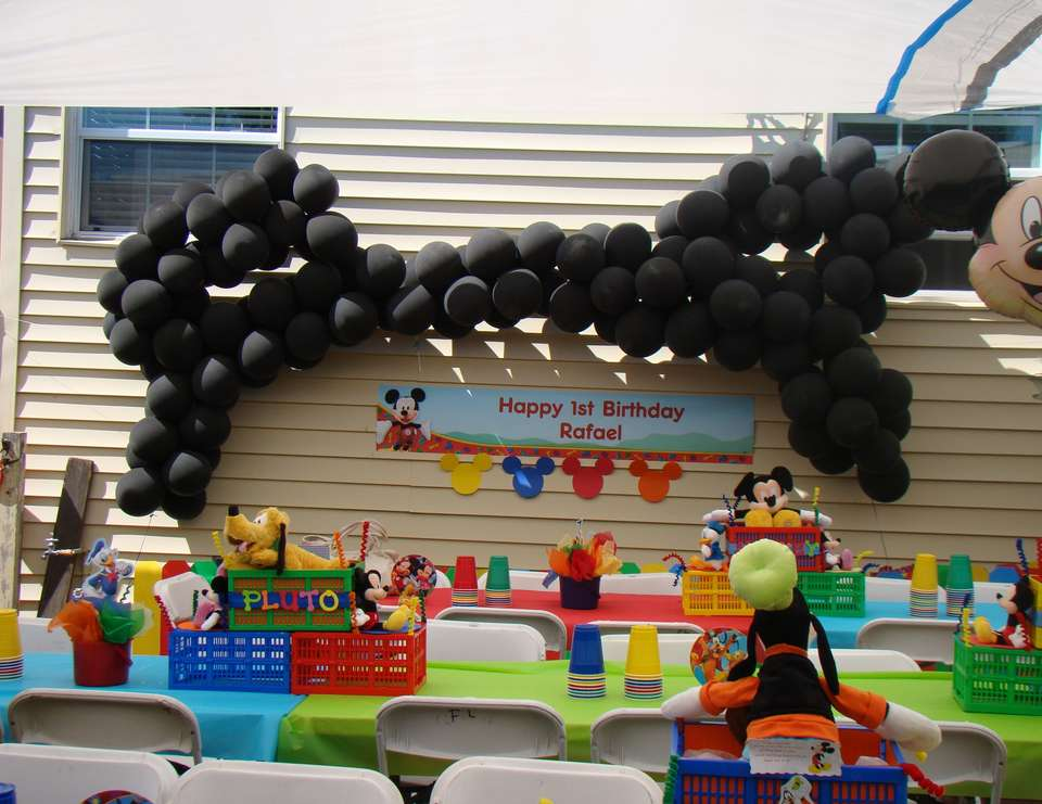 Rafael's First Birthday - Mickey Mouse Clubhouse