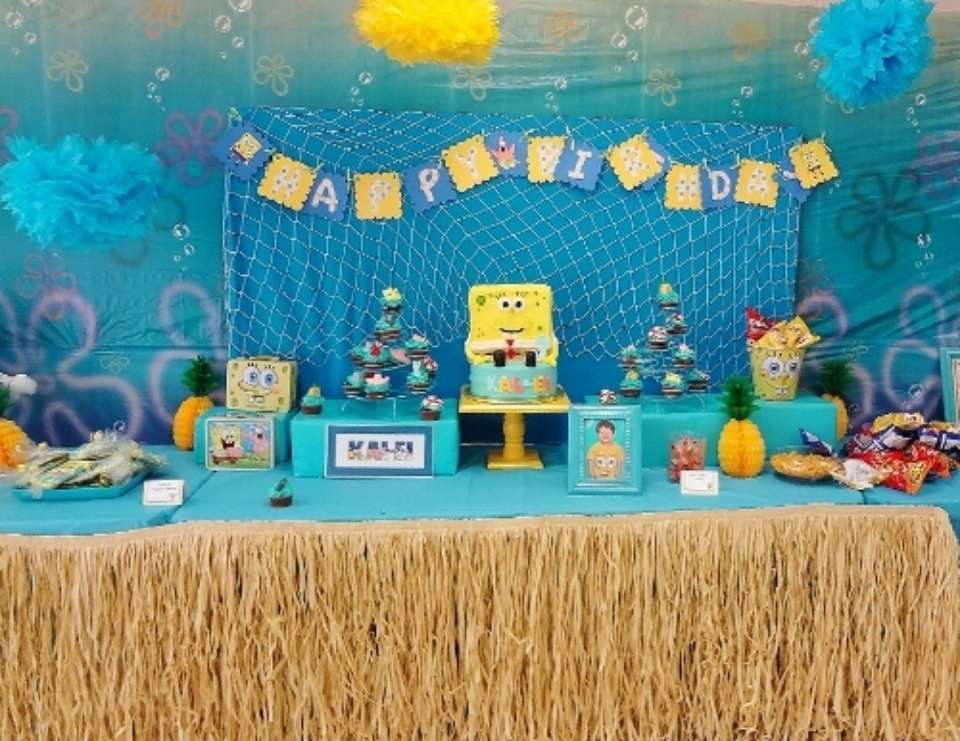Kal-el's 3rd Birthday - Spongebob