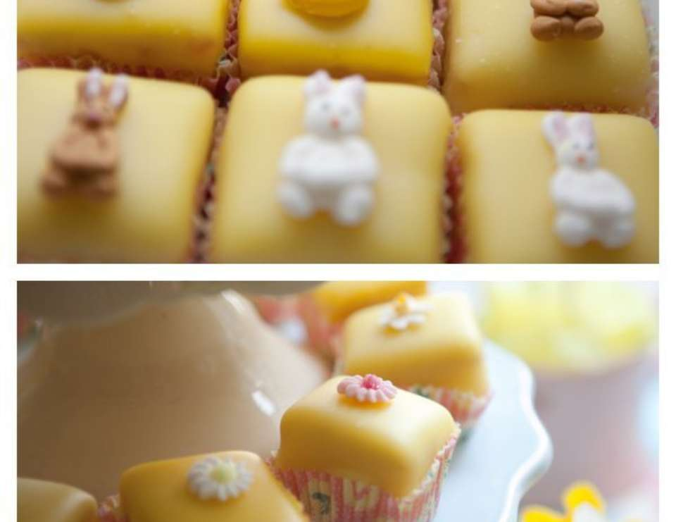 1st Birthday Spring Afternoon Tea Party - Spring, Bunnies, Chicks, Lemon Yellow