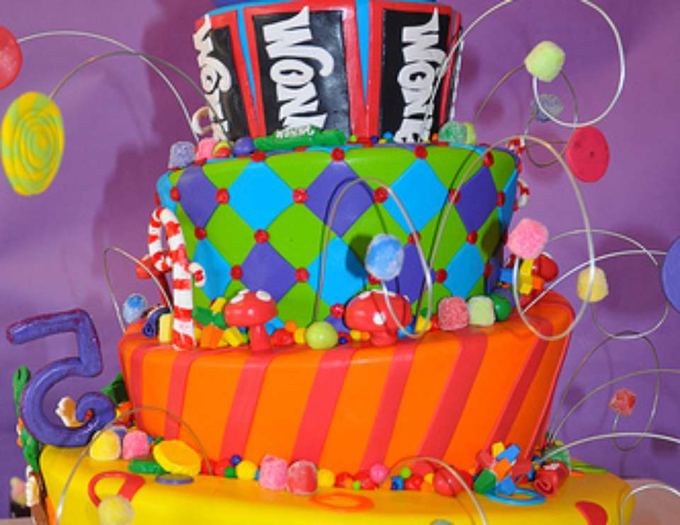 Willy Wonka 5th Birthday Party - Willy Wonka and the Chocolate Factory