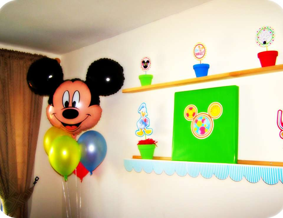 Oliver's 3rd Birthday Party - Mickey Mouse Clubhouse