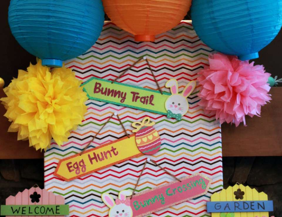 Modern Chevron Easter Party - Kids Easter Party