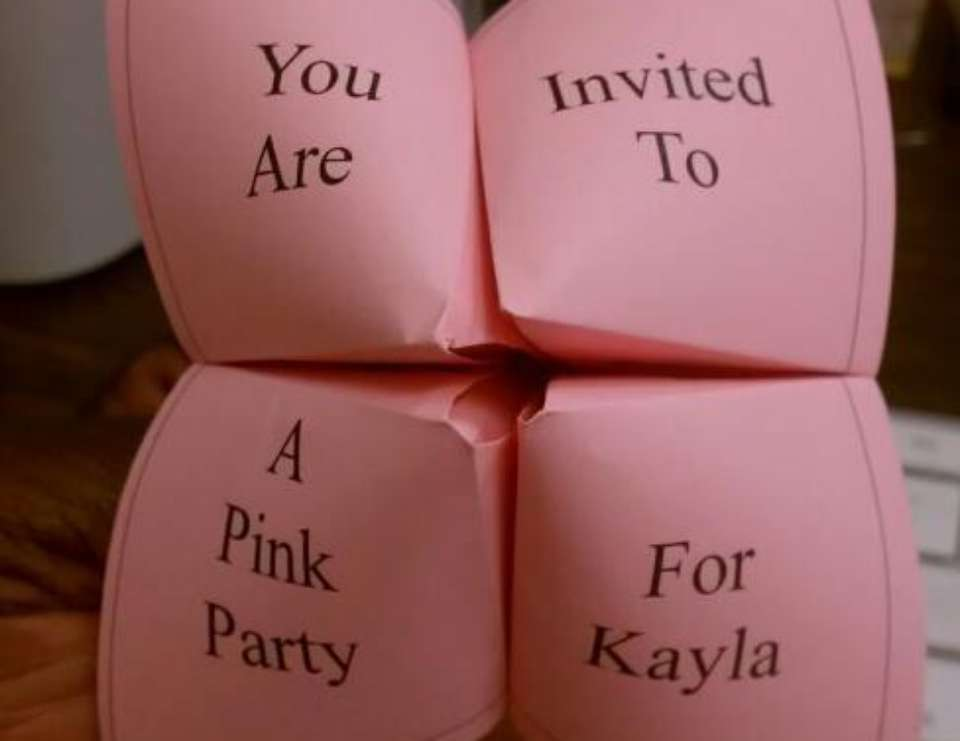 Kayla's 9th Pink Party - PINK!