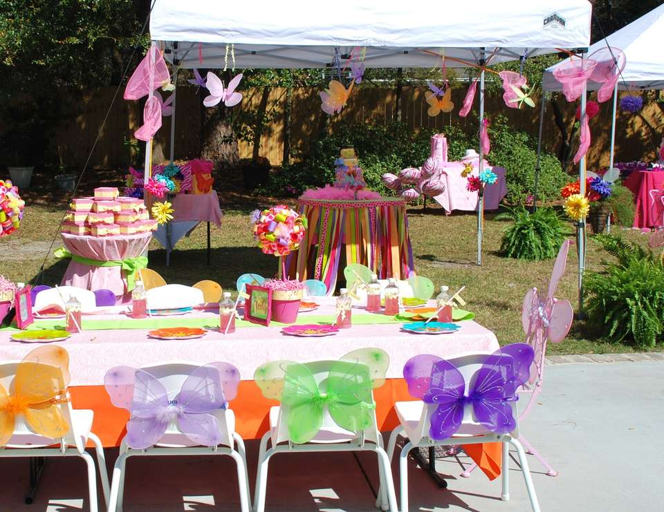 Emma Kate and Madeleine turn 4 - A Fancy Nancy Inspired Soiree