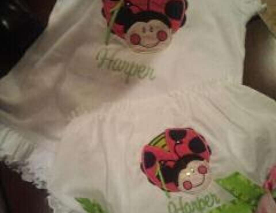 Harper's Oh So Sweet Ladybug party - Oh So Sweet Ladybugs