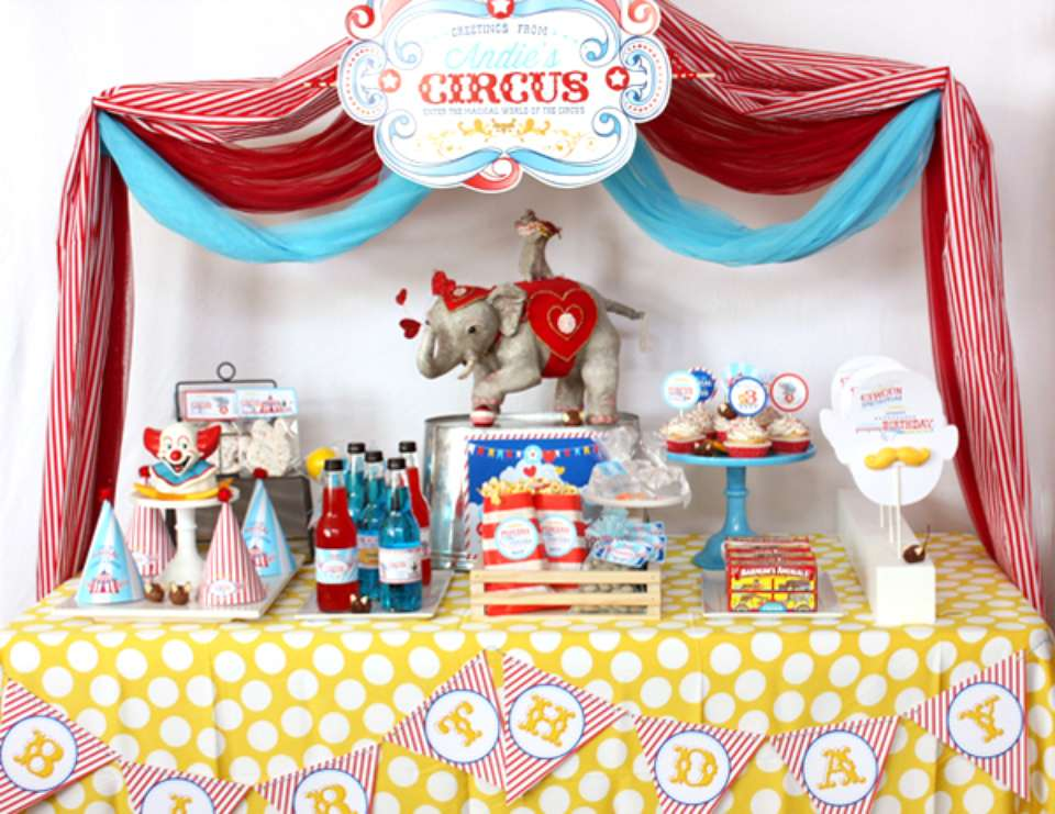 Welcome to the Magical World of the Circus - Circus/Carnival