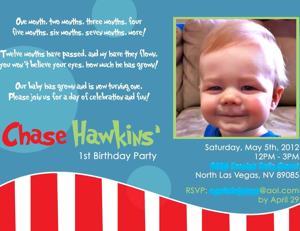Seussville Party - First Birthday/Dr. Seuss
