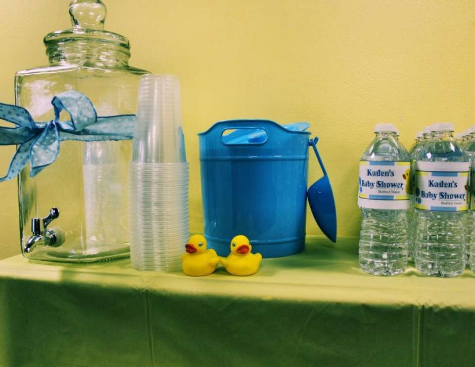 Jasmine's Baby Shower - Rubber Ducky