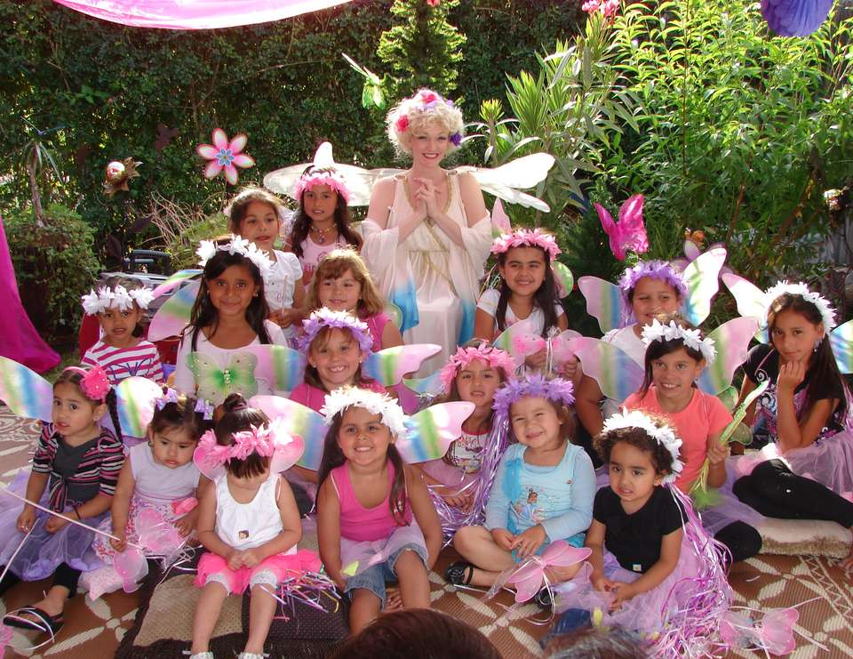 Enchanted forest fairy party - Garden Fairies