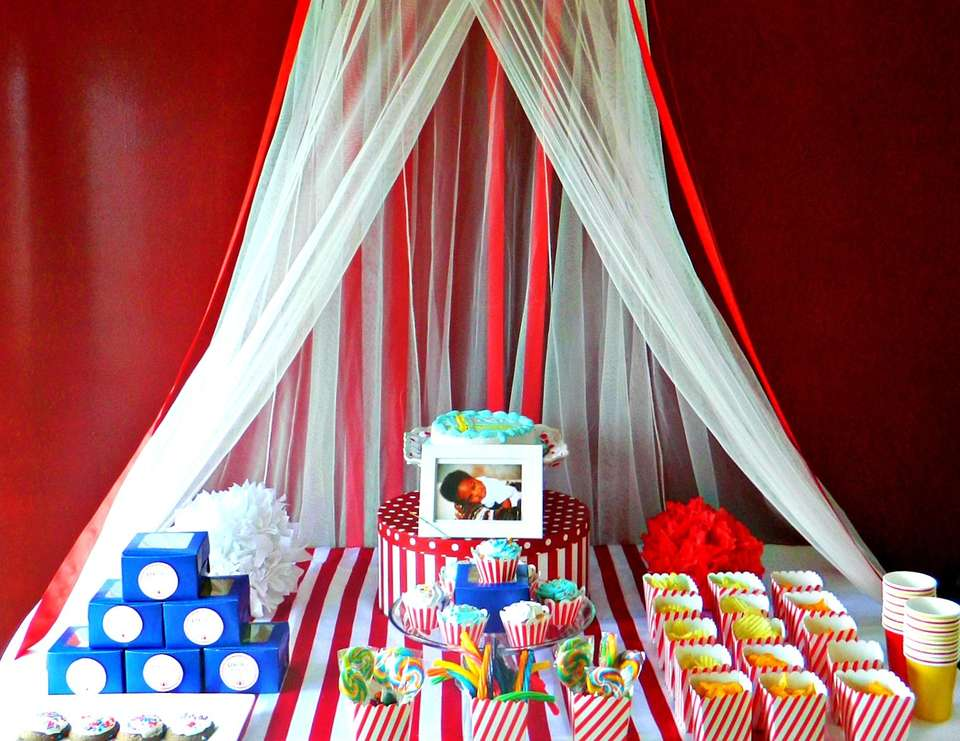 Levi's 1st Birthday Carnival - Carnival/Circus