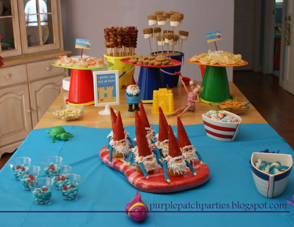 Roaming Gnome/Beach Birthday Party - Roaming Gnome Beach Party