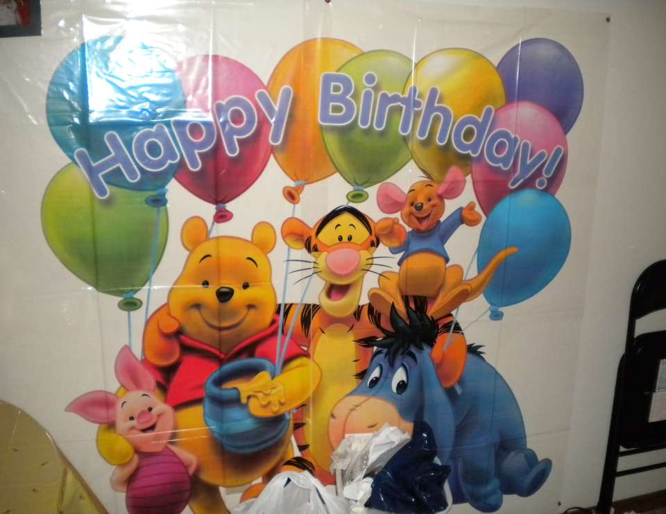 Lilly's First Pooh Bear Birthday - Winnie the pooh