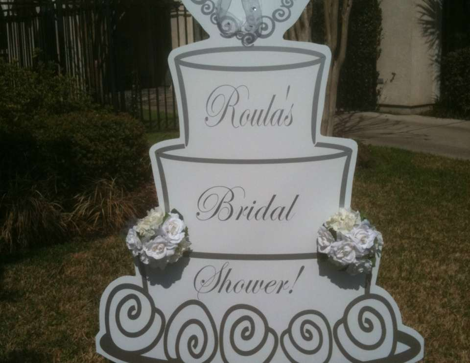 Bridal Shower - Silver & White