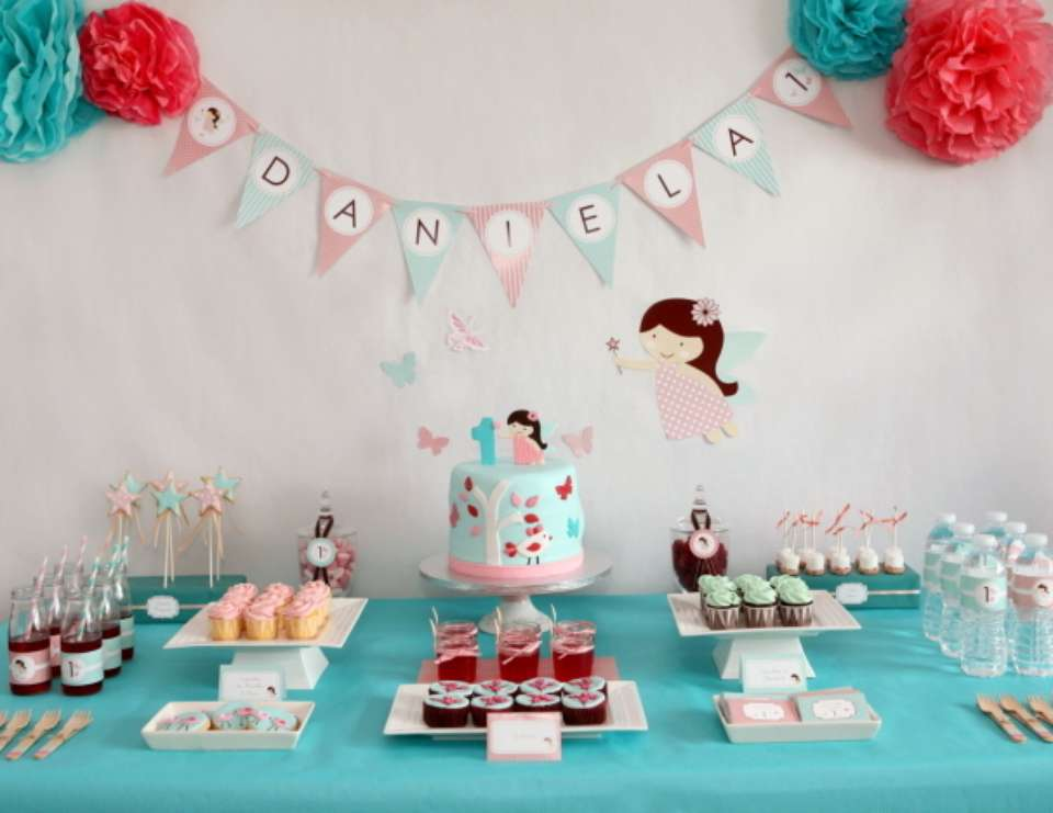 1st Birthday Party - Enchanted Fairy + Butterflies