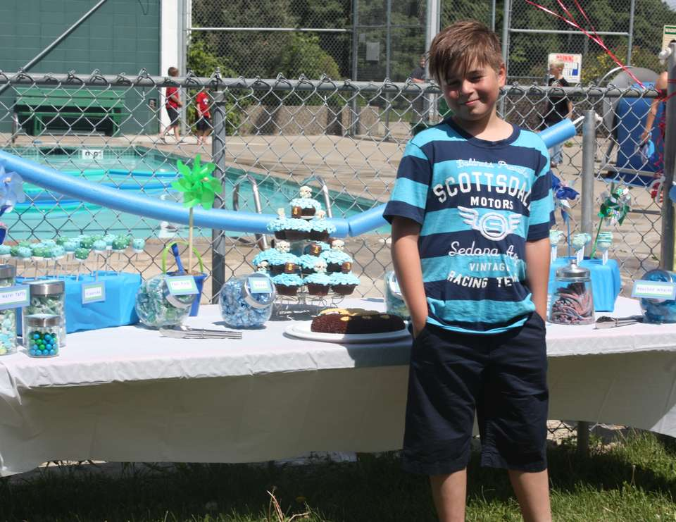 Ethan's 10th Birthday - Pool Party