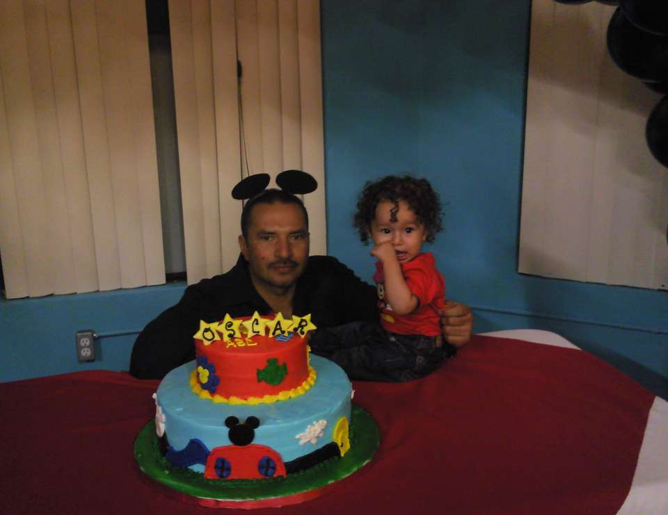 Baby Oscar's 1st Birthday - Mickey Mouse