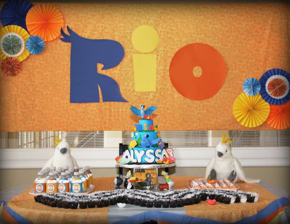 Let me take you to RIO! - Rio Movie
