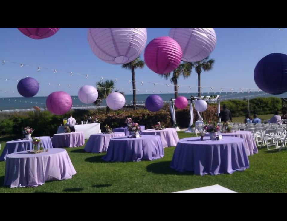 Purple Destination Wedding - Purple Spring